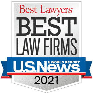 best law firms badge 2021